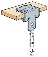 EMLUX - BRITCLIPS/GIRDER CLIPS BC125 BEAM CLAMP 2-4MM